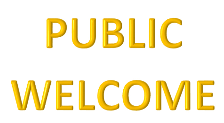 Public Welcome