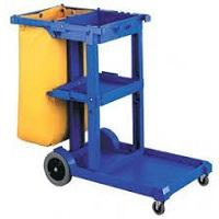 JANITOR CARTS-TROLLEYS-SIGNS