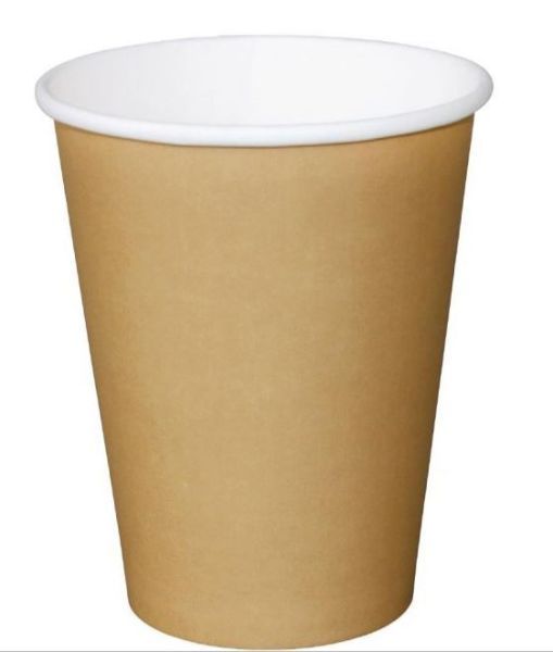 CUP KRAFT SINGLE WALL 12OZ PK 50 (CTN 1000)