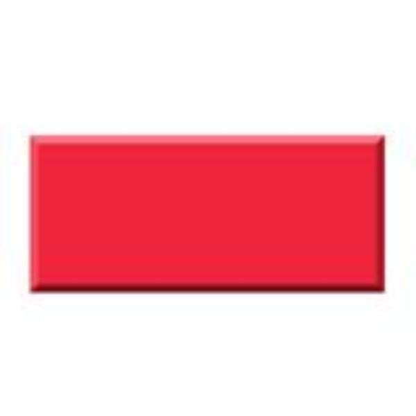 TABLE CLOTH RECTANGLE RED PLASTIC 137 x 275cm