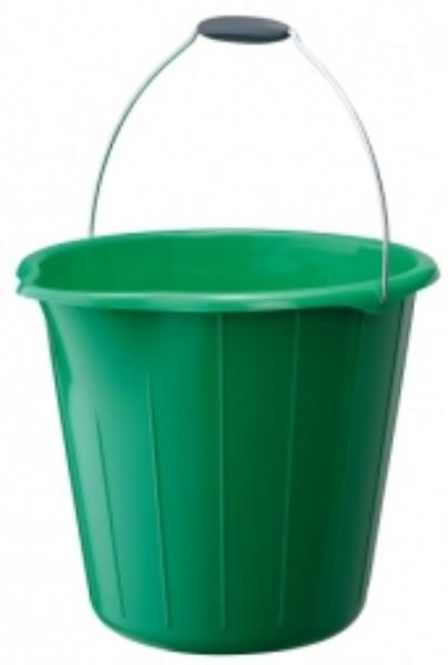 BUCKET 12LTR H/D ROUND GREEN OATES