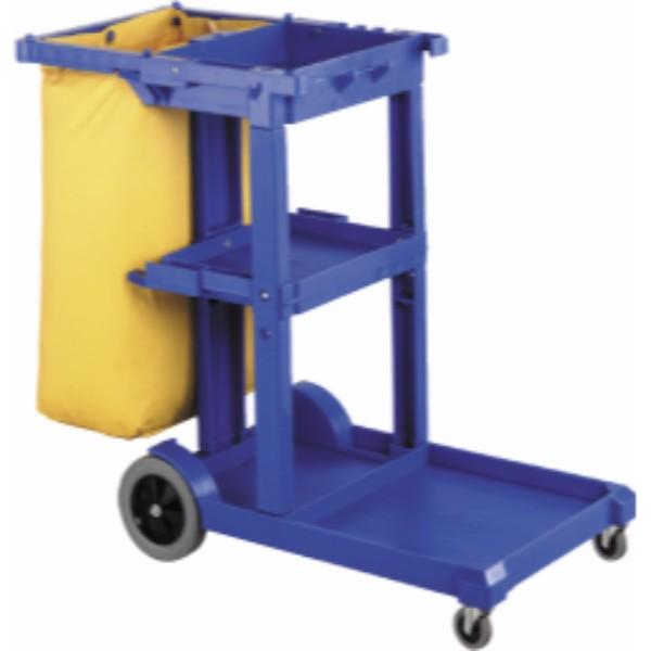 JANITOR CART MARK II BLUE OATES