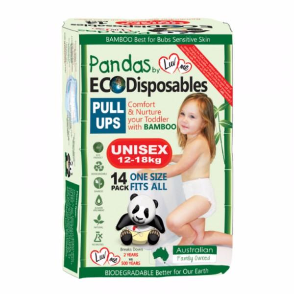 NAPPIES LUVME PULL UP XL (12-18KG) PK14  (CTN56)