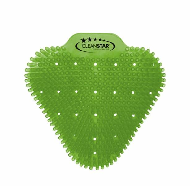 URINAL SCREEN CITRUS (lime green) anti splash ea (pack 10) C
