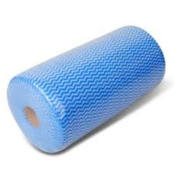 WIPE HEAVY DUTY ROLL BLUE ANTI-BACTERIAL ROSCHE