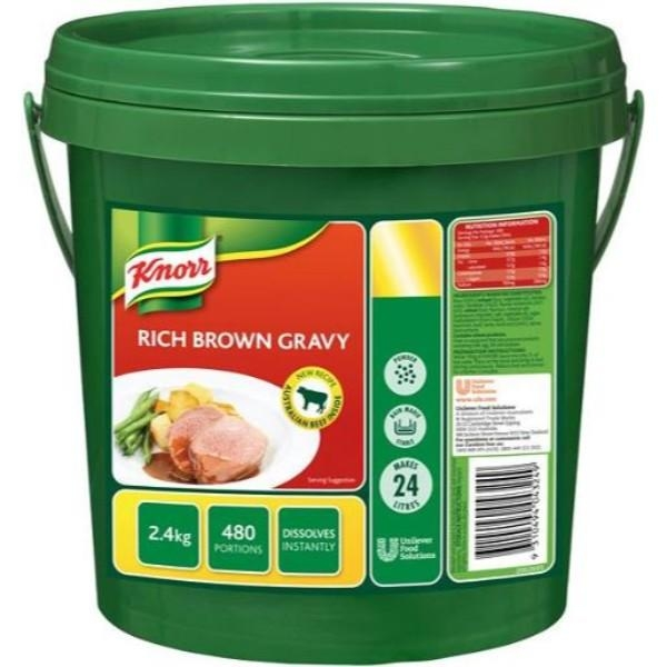GRAVY RICH BROWN 2.4KG KNORR CAM