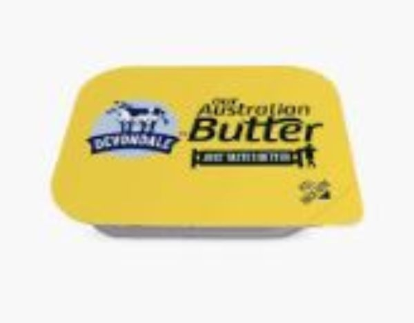 PORTION BUTTER 7G BOX 200 (WESTERN STAR) (FOIL WRAPPED)