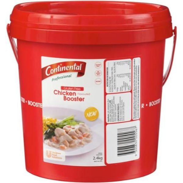 CHICKEN BOOSTER 2.4KG CONTINENTAL (GLUTEN FREE)