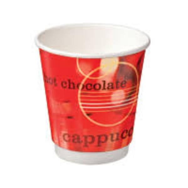 CUP 12oz COFFEE DOUBLE WALL CAFE VERVE PK 25 (CTN 500)