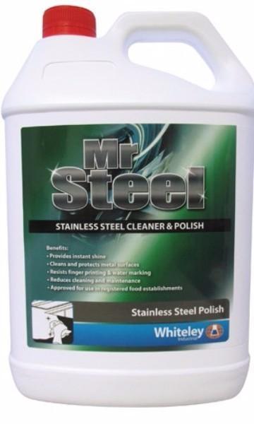 MR STEEL STAINLESS STEEL CLEANER & POLISH 5LTR