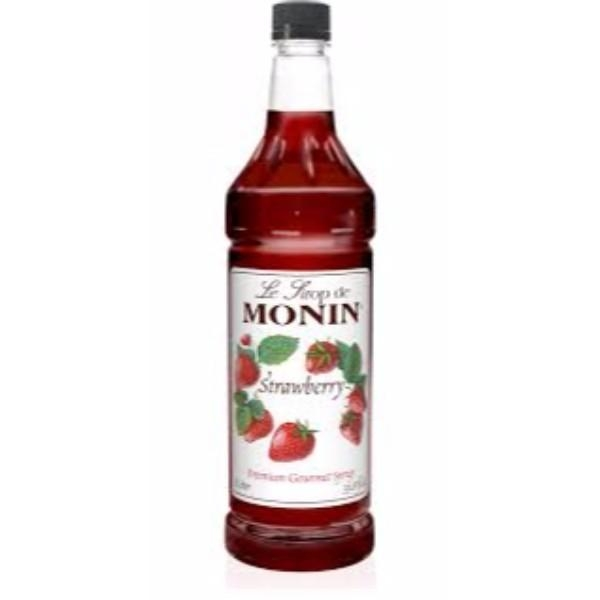 STRAWBERRY SYRUP 1L MONIN
