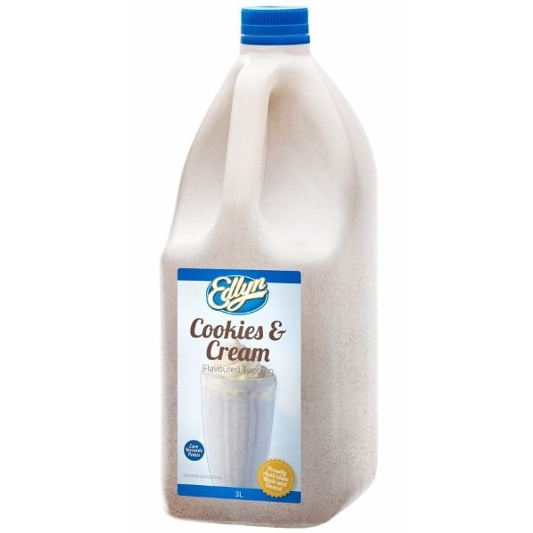 TOPPING COOKIES & CREAM 3L (EDLYN)