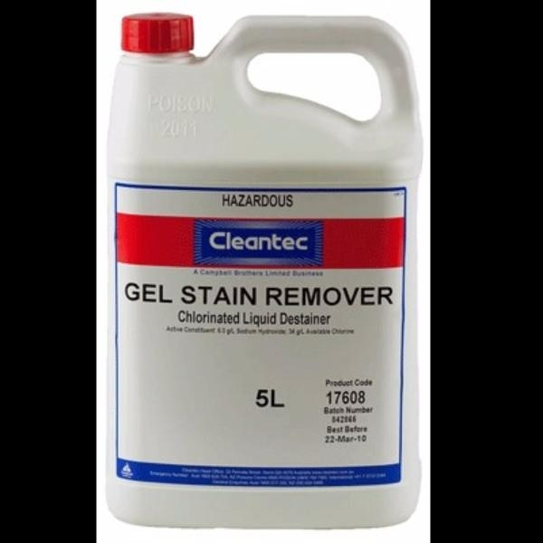 GEL STAIN REMOVER 5LT ECOLAB