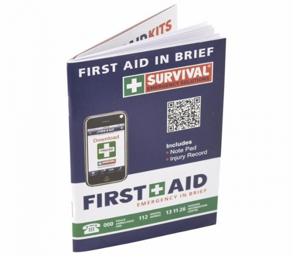 FIRST AID BOOKLET EMERGENCY AFAS
