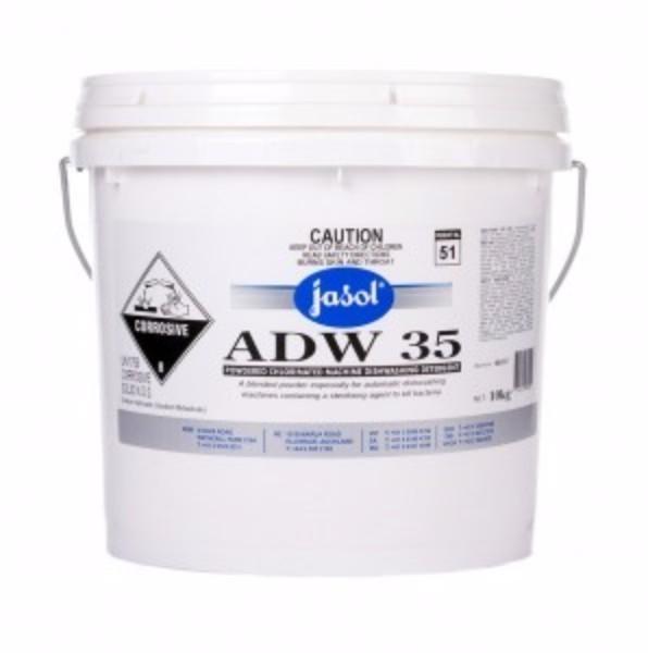 ADW 35 DISHWASH POWDER 5KG with rinse JASOL
