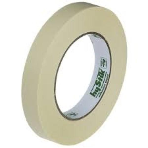 TAPE MASKING HYSTIK 18mm x 50m ROLL (CTN 48)