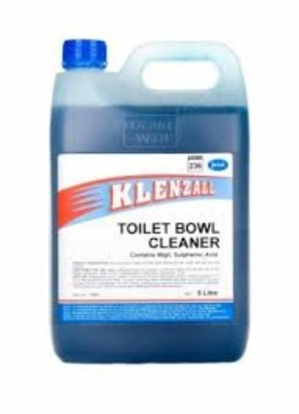 KLENZALL TOILET BOWL CLEANER 5LT JASOL