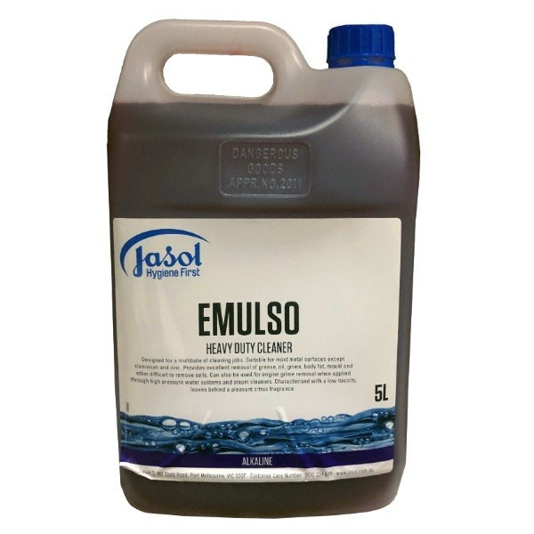 EMULSO H/DUTY CLEANER 5LT JASOL