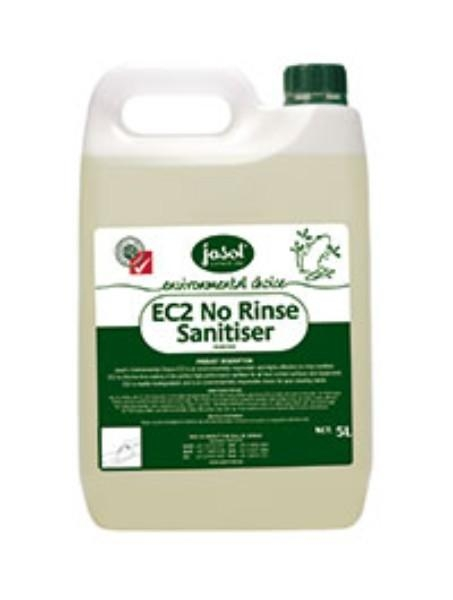 EC2 NO RINSE SANITISER 5L JASOL