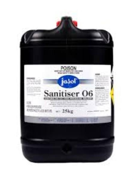 SANITISER 02 FOAM ACID 25KG Food Grade JASOL