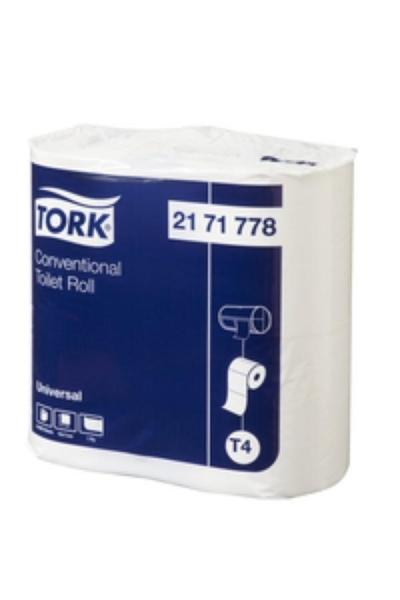 TOILET ROLL 1PLY 1000 SHT TORK CTN48