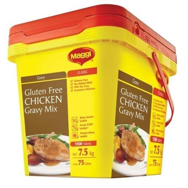 GRAVY CHICKEN MAGGI 7.5KG (GLUTEN FREE)