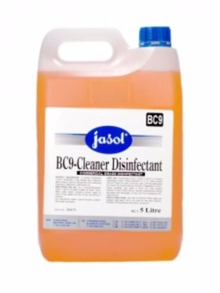 BC9 - CLEANER DISINFECTANT 5LT JASOL
