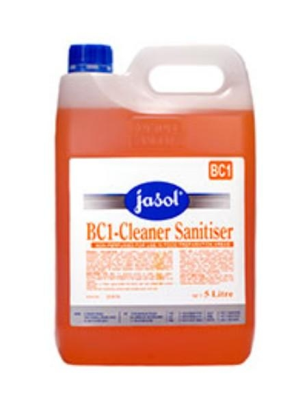 BC1 CLEANER SANITISER 5LTR JASOL