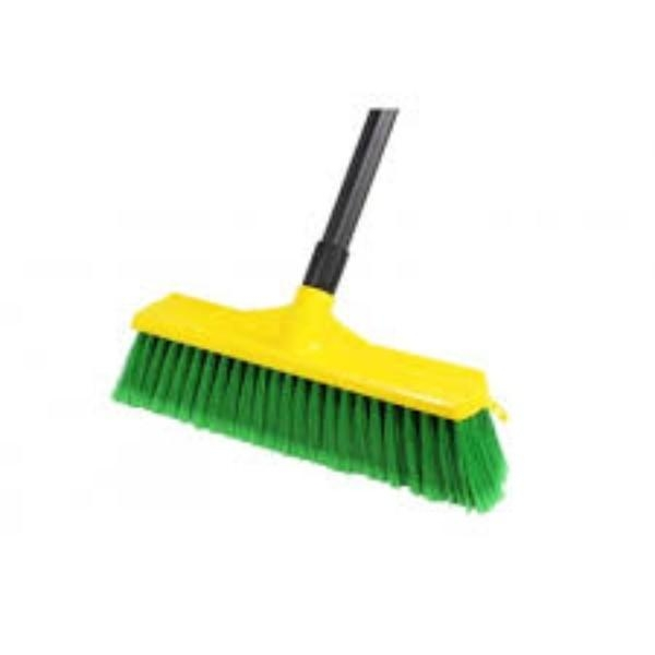 BROOM BROOMOP G/GOLD 350MM W/HANDLE