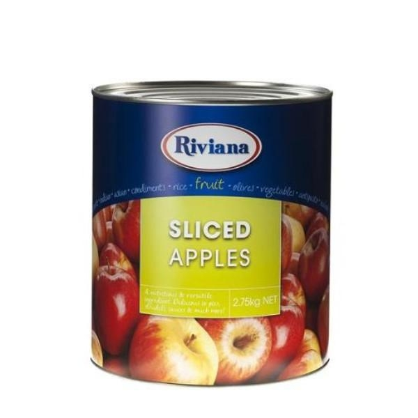APPLES SLICED A10 3KG RIVIANA EACH (CTN 3)
