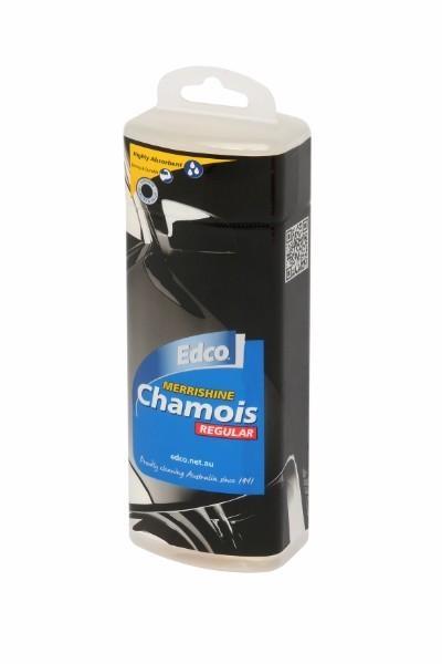 CHAMOIS MERRISHINE REGULAR CAN 31X42CM EDCO