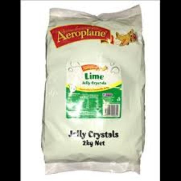 JELLY CRYSTALS 2kg BAG GREEN/LIME CAM