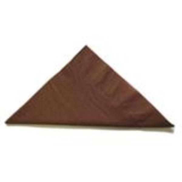 NAPKIN 2PLY LUNCH CHOCOLATE PK 100 (CTN 2000)
