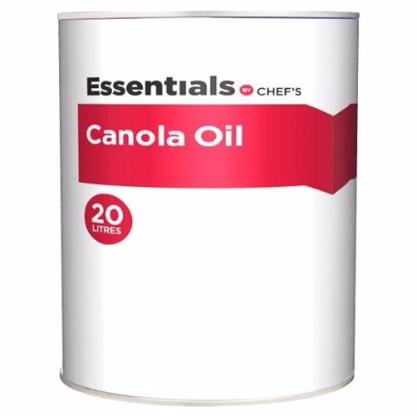 CANOLA OIL 20LT (Metal drum) ESSENTIALS CHEF