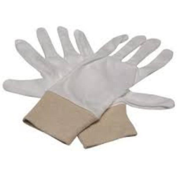 GLOVES COTTON INTERLOCK MEDIUM PAIR   (PACK12) - Click for more info