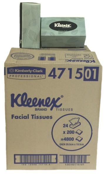 TISSUE 4715 2PLY 200 SHEETS CTN24