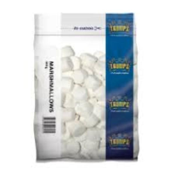 MARSHMALLOWS WHITE TRUMPS 500G