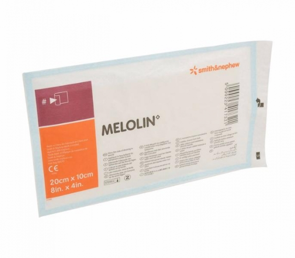 DRESSING ADHERENT MELOLIN 5 X 5CM AFAS