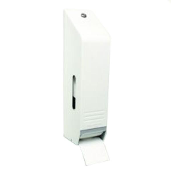 DISPENSER TOILET ROLL 3 ROLL WHITE ENAMEL(KC)