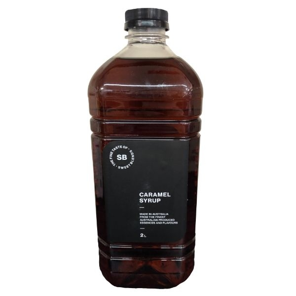 SWEET BLENDS CARAMEL COFFEE SYRUP 2LT