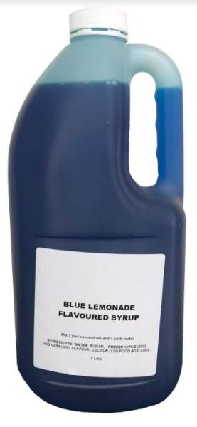 SLUSHIE BLUE LEMONADE 2L - Click for more info