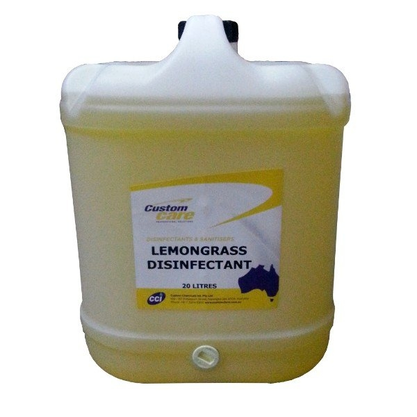 LEMONGRASS DISINFECTANT 20L CUST/CHEM