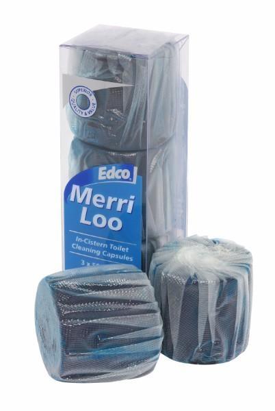MERRI LOO IN CISTERN CLEANER PK3 EDCO