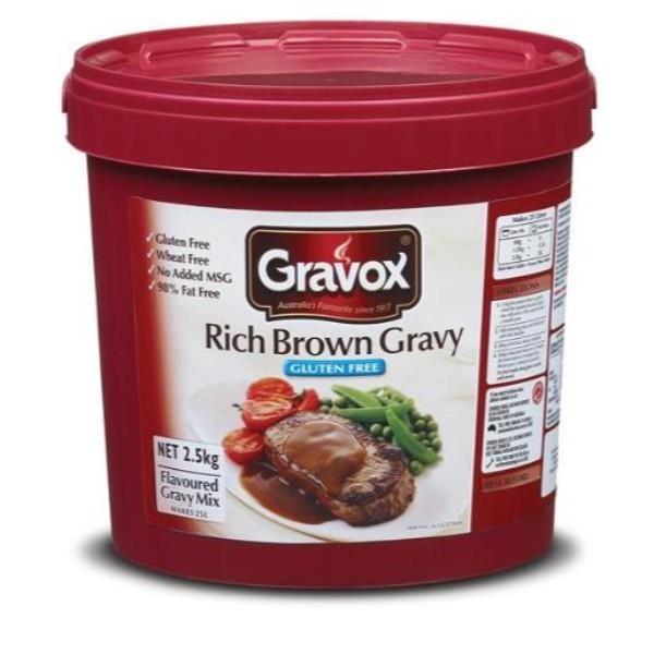 GRAVY GRAVOX RICH 2.5KG (Gluten Free)