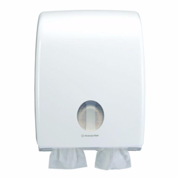 DISPENSER TOILET TISSUE AQUARIUS INTERLEAVED TWIN KC