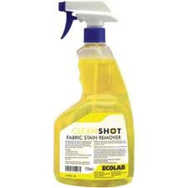 CLEANSHOT FABRIC STAIN REMOVER 750ML ECOLAB