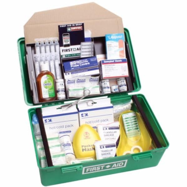 FIRST AID KIT LGE CARRY CONTAINER FOR CHILD CARE