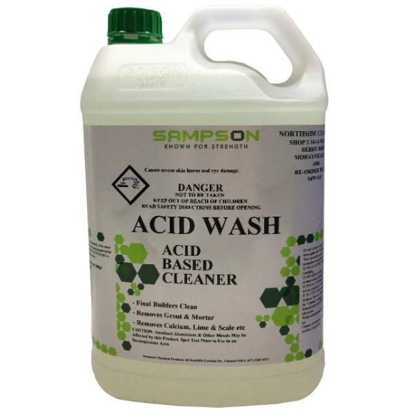 ACID WASH 5 LTR SAMPSON