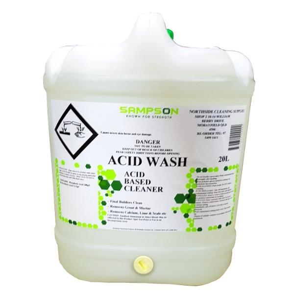ACID WASH 20 LTR SAMPSON