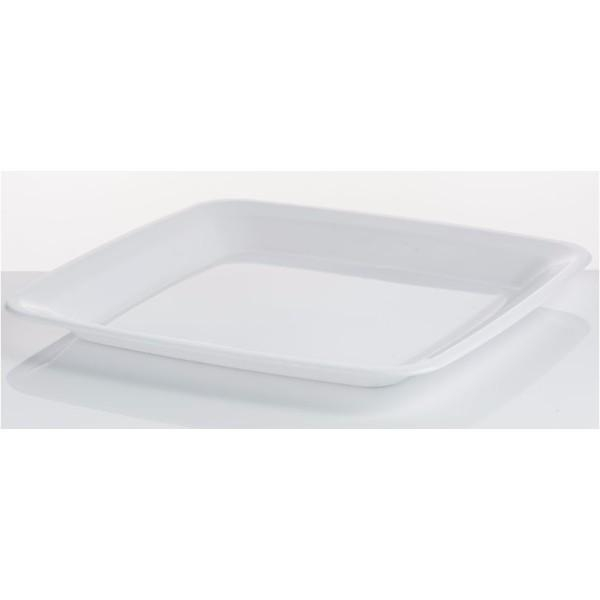 "PLATTER 16"" SQUARE WHITE ANCHOR EA (CTN 40)"